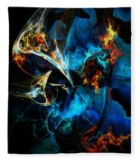 Abstract 080613 Fleece Blanket