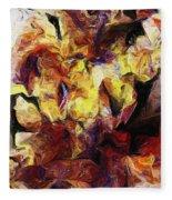 Abstract 082413 Fleece Blanket