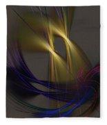 Abstract 090613 Fleece Blanket