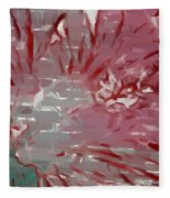 Abstract 101 Fleece Blanket