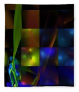 Abstract 101413 Fleece Blanket