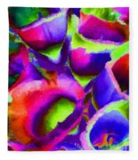 Abstract 102 Fleece Blanket