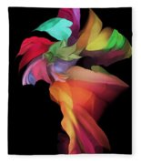 Abstract 112313 Fleece Blanket