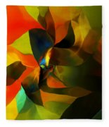 Abstract 120412 Fleece Blanket