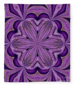 Abstract 129 Fleece Blanket