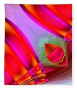 Abstract 134 Fleece Blanket