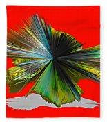 Abstract #140810 - Untitled  Fleece Blanket