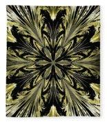 Abstract 146 Fleece Blanket