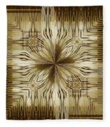 Abstract 15-02 Fleece Blanket