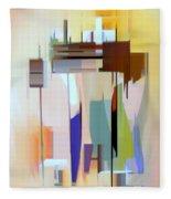 Abstract 16 Fleece Blanket