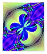 Abstract 167 Fleece Blanket