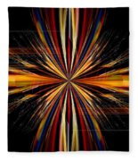 Abstract 171 Fleece Blanket