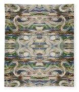 Abstract 173 Fleece Blanket
