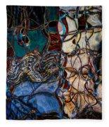 Abstract 1785 Fleece Blanket