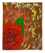 Abstract #2 Fleece Blanket
