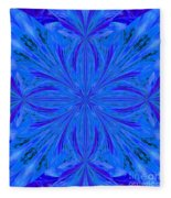 Abstract 206 Fleece Blanket