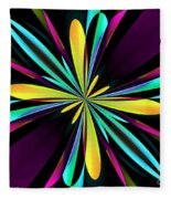 Abstract 222 Fleece Blanket