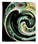 Abstract 291 Fleece Blanket
