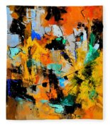 Abstract 315002 Fleece Blanket