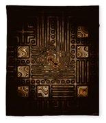 Abstract 326 Fleece Blanket