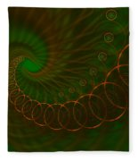 Abstract 340 Fleece Blanket