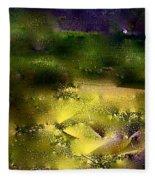 Abstract 36 Fleece Blanket
