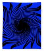 Abstract #4 Fleece Blanket