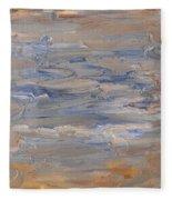Abstract 408 Fleece Blanket
