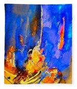Abstract 434180 Fleece Blanket