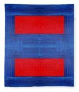 Abstract 477 Fleece Blanket