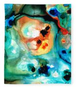 Abstract 5 - Abstract Art By Sharon Cummings Fleece Blanket