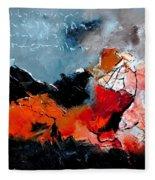 Abstract 553101 Fleece Blanket
