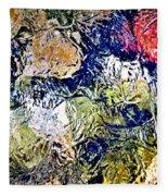 Abstract 63 Fleece Blanket