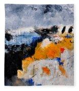 Abstract 66211142 Fleece Blanket