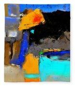 Abstract 664150 Fleece Blanket
