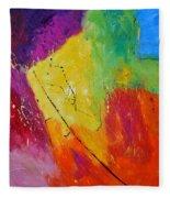 Abstract 77411112 Fleece Blanket