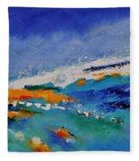 Abstract 88319091 Fleece Blanket