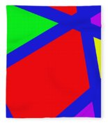 Abstract Art Fleece Blanket