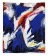 Abstract Art Forty-two Fleece Blanket