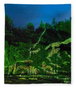 Abstract Art Nature Scenery Fleece Blanket