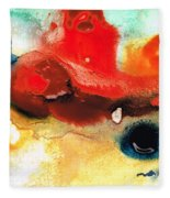 Abstract Art - No Limits - By Sharon Cummings Fleece Blanket