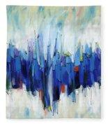 Abstract Art Sixty-two Fleece Blanket