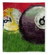 Abstract Billiards  Fleece Blanket