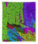 Abstract. Bring In The Noise Fleece Blanket