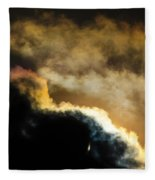 Abstract By Eclipse Fleece Blanket