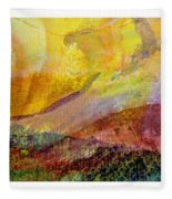 Abstract Collage No. 1 Fleece Blanket
