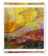 Abstract Collage No. 2 Fleece Blanket