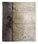 Abstract Concrete 11 Fleece Blanket