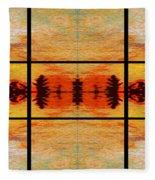 Abstract Cracker Tapestry Fleece Blanket
