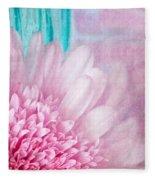 Abstract Daisy Fleece Blanket